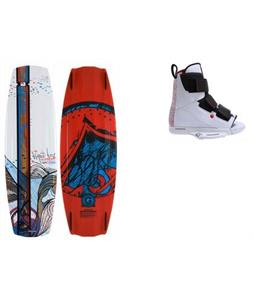 Liquid Force Watson Hybrid Wakeboard w/ Vantage OT Bindings