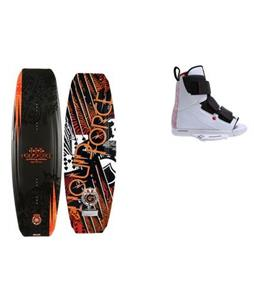 Liquid Force Tex Wakeboard w/ Vantage OT Bindings