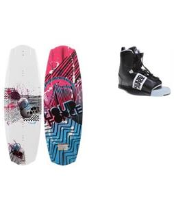 Liquid Force Substance Wakeboard w/ Element Bindings