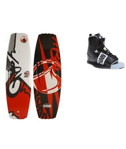 Liquid Force S4 Wakeboard w/ Element Bindings