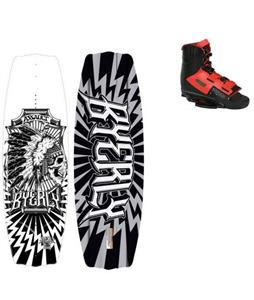 Byerly Assault Wakeboard Blem w/ Verdict Bindings