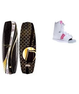Liquid Force Jett Wakeboard w/ Alpha Bindings