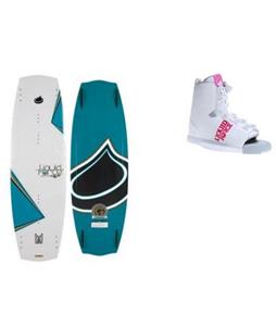 Liquid Force Melissa Hybrid Wakeboard w/ Alpha Bindings