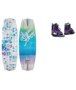 Liquid Force Angle Wakeboard w/ Plush Bindings