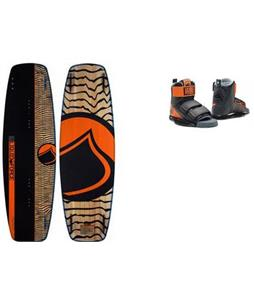 Liquid Force Slab Wakeboard w/ Domain Bindings