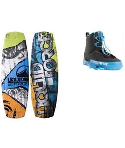 Liquid Force Classic Wakeboard w/ Tao Bindings