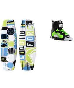 Liquid Force Fury Wakeboard w/ Rant Bindings