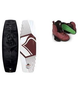 Liquid Force RDX Wakeboard w/ Raph Bindings
