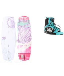 Liquid Force Angel Wakeboard w/ Plush Bindings