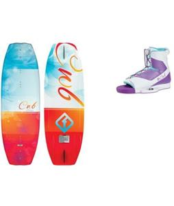 CWB Lotus Wakeboard w/ Optima Bindings