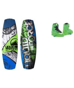 Liquid Force Classic Wakeboard w/ Ultra Closed Toe Bindings