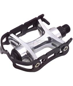 Wellgo 888 Alloy Quill Pedals Black 1/2