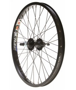 Wheel Master BMX Rear Wheel Black 20 14mm 36H