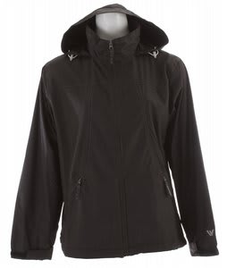 White Sierra Paradise Cove Jacket Black