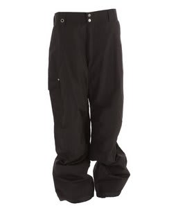 White Sierra Bilko II Snow Pants Black