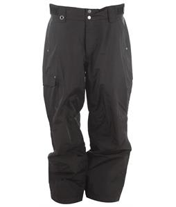 White Sierra Bilko 30in Snowboard Pants Black