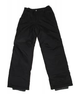 White Sierra Bilko Snow Pants Black