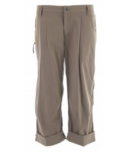White Sierra Cache Creek Capri Pants Bark