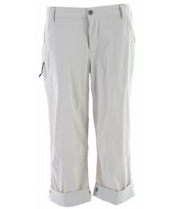 White Sierra Cache Creek Capri Pants Stone