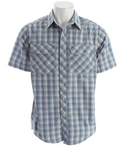 White Sierra Cape Canyon Shirt Blue Steel