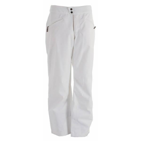 White Sierra Cinder Cone Snowboard Pants