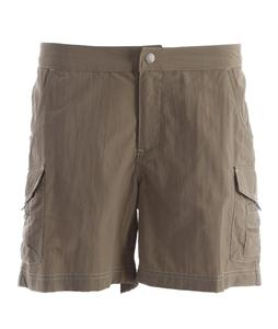 White Sierra Crystal Cove River Shorts Bark