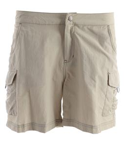 White Sierra Crystal Cove River Shorts Stone
