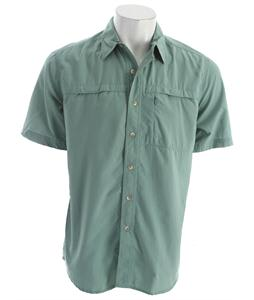 White Sierra Kalgoorlie Shirt Aztec Green