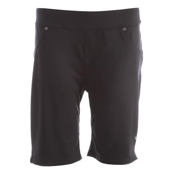 White Sierra Knit Hiking Shorts