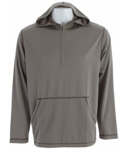 White Sierra Swamp 1/4 Zip Hoodie Bark/Breen
