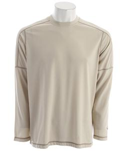 White Sierra Swamp L/S T-Shirt Stone