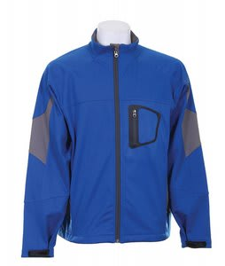 White Sierra Blaster Ski Jacket Royal Blue/Pewter