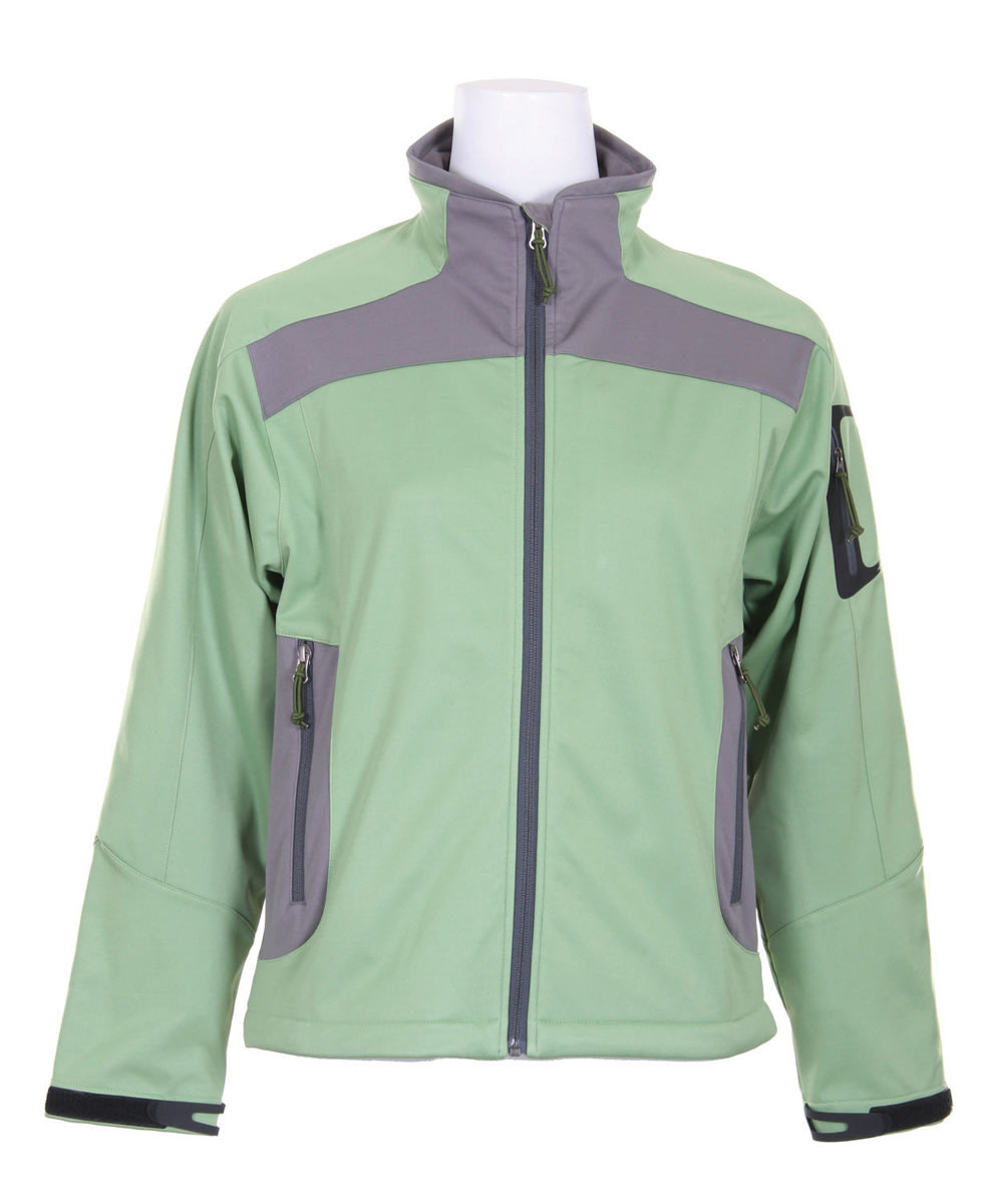 Shop for White Sierra Half Moon Ski Jacket Jade Green - Women's
