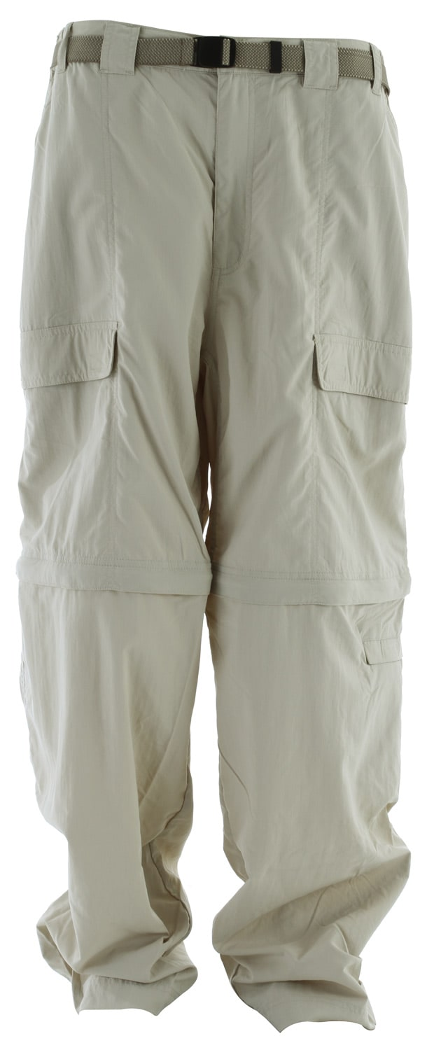 "Shop for White Sierra Teton Trail Convertible 32"" Pants Stone - Men's"
