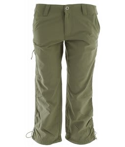 White Sierra Bent Creek Capris New Sage