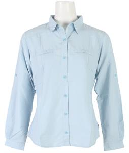White Sierra Canyon Crest L/S Shirt