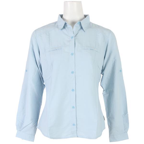 White Sierra Canyon Crest L/S Shirt