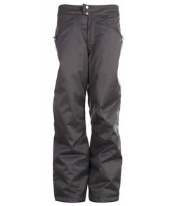 White Sierra Cinder Cone Snow Pants Caviar