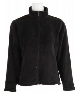 White Sierra Cozy Jacket Black