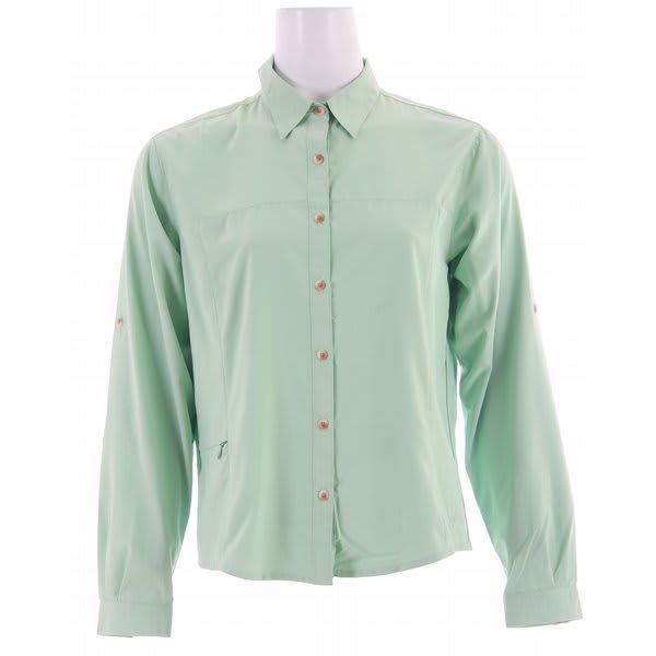 White Sierra Gobi Desert L/S Shirt