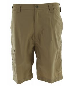 White Sierra Grizzly Trail Shorts Khaki