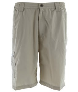 White Sierra Grizzly Trail Shorts Stone