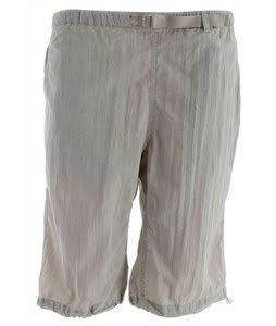 White Sierra Hanalei Bermuda Shorts Stone