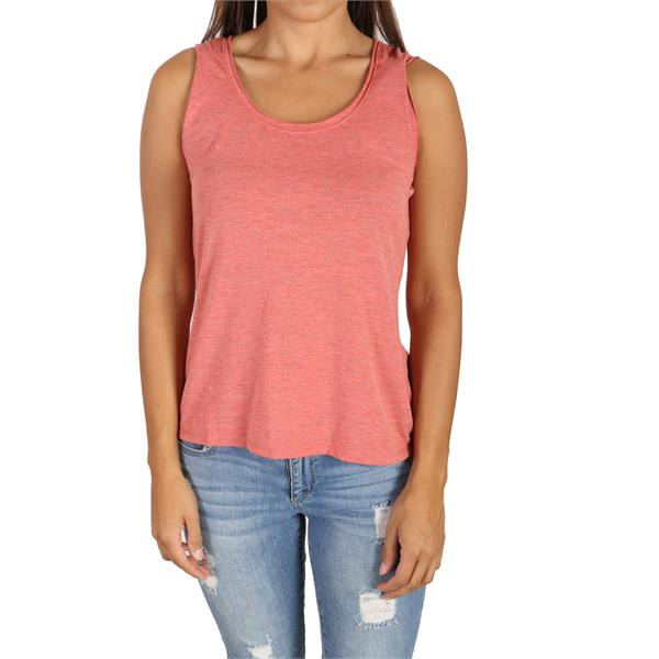White Sierra Heather Tahoe Tank Top