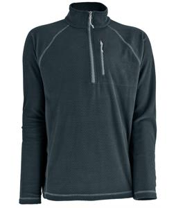 White Sierra Hexi Quarter Zip Fleece Titanium