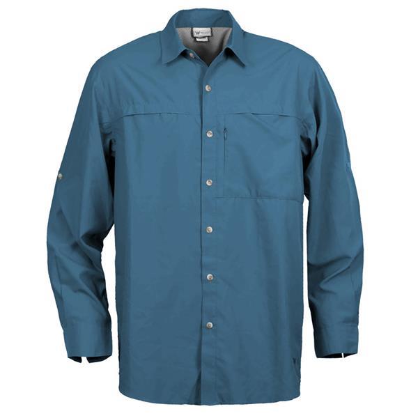 White Sierra Kalgoorlie L/S Shirt