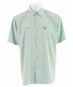 White Sierra Kalgoorlie Shirt Spruce Green