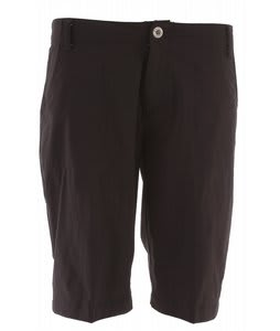 White Sierra Lakeport Bermuda Shorts Black