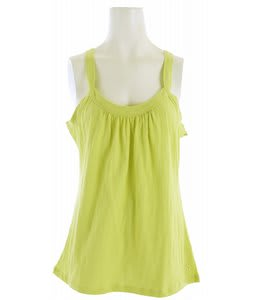 White Sierra Lisbon Tank Top Faded Lime