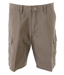 White Sierra Northridge Cargo Shorts Bark